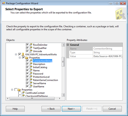 SSIS Package Configuration in SQL server 2008 - TechBubbles