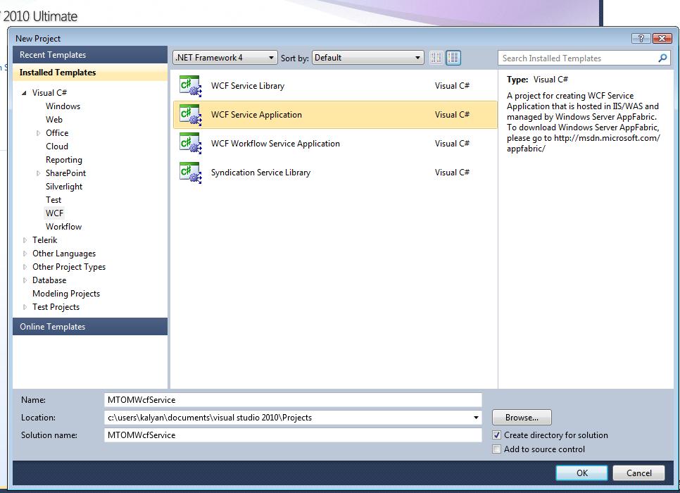WCF Service using MTOM in  NET FW 4 - TechBubbles