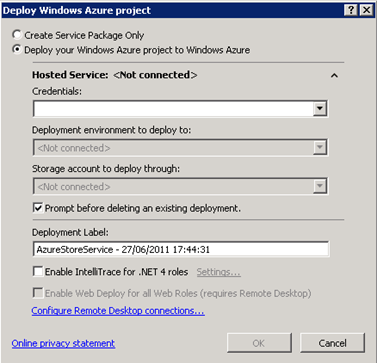 how to add microsoft.windowsazure.serviceruntime reference