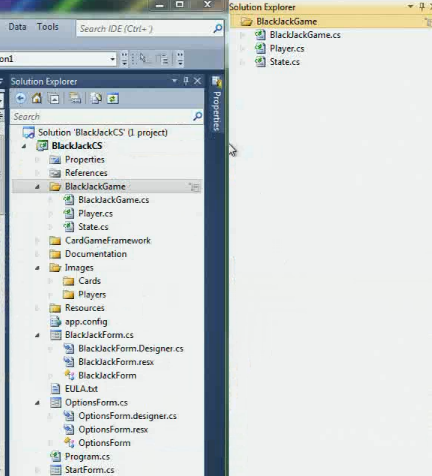 how to open rdl file in visual studio 2010