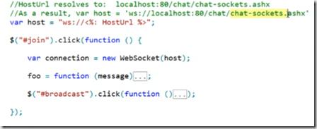 WebSockets in ASP NET 4 5 - TechBubbles