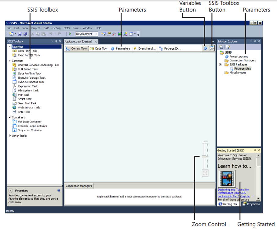 General Interface Changes in SQL Server 2012 SSIS - TechBubbles