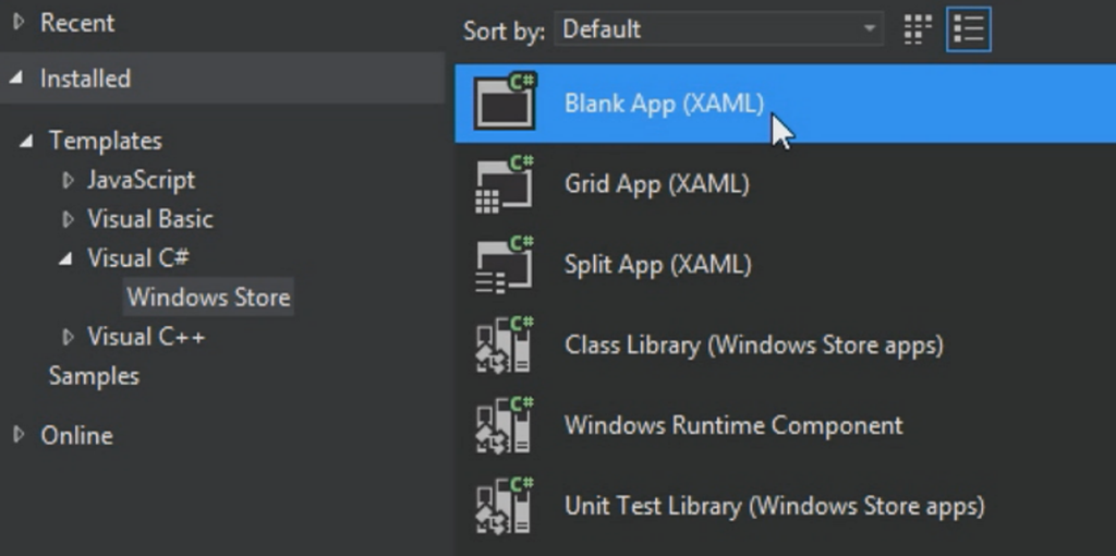 Creating simple windows store App with C# | TechBubbles