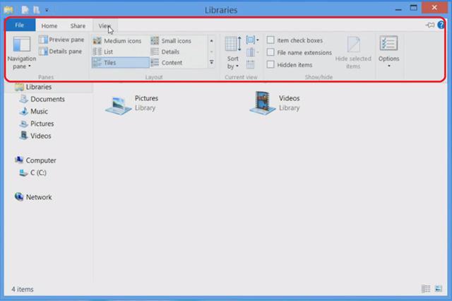 Windows 8 File Explorer Tips - TechBubbles
